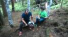 Aufbauarbeiten Bogenparcours_2